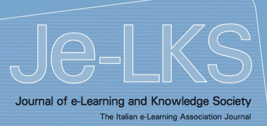 "Je-LKS: Online il numero 3-2019: ""Learning Analytics: for a dialogue between teaching practices and educational research"""